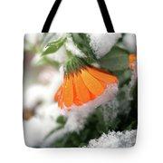 Frozen Marigolg Tote Bag