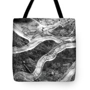 Frozen Puddle Two  Tote Bag