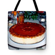 Frozen Pumpkin Mousse Torte Tote Bag