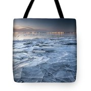 Frozen Town Tote Bag