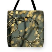 Frozen Twigs Of A Corkscrew Willow Tote Bag
