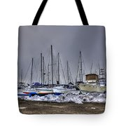 Frozen Waves Tote Bag