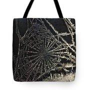Frozen Web Tote Bag
