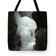 Frozen Zapata Falls Tote Bag