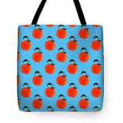 Fruit 01_orange_pattern Tote Bag