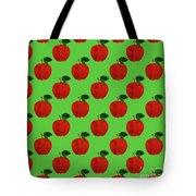 Fruit 02_apple_pattern Tote Bag