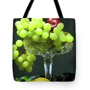Fruit And Crystal. Tote Bag