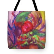 Fruit And Flowers Tote Bag