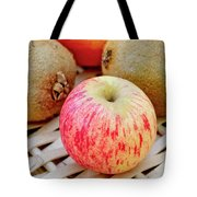Fruit Basket. Apple. Tote Bag