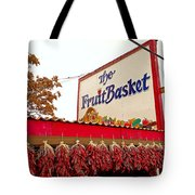 Fruit Basket Stand Tote Bag