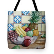 Fruit Bowl Tote Bag