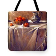 Fruit By Candle Light Tote Bag
