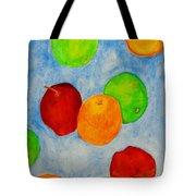 Fruit Drops Tote Bag