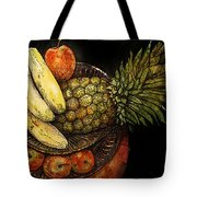 Fruit In The Round Tote Bag