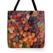 Fruit Of The Vine Tote Bag by Barbara Berney