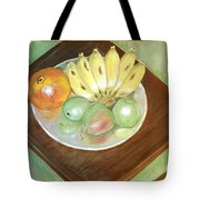 Fruit Plate Tote Bag