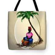 Fruit Seller Tote Bag