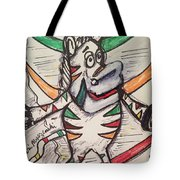 Fruit Stripe Tote Bag