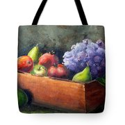 Fruit With Hydrangea Tote Bag