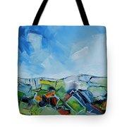 Fruitgum Landscape Tote Bag