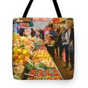 Fruits And Vegetables - Pike Place Market Tote Bag