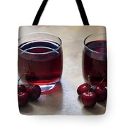 Fruity Cherry Tote Bag by Tracy Hall