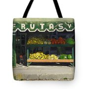Frutas Y Tote Bag by Michael Ward
