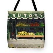 Frutas Y Tote Bag