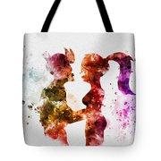Fry And Leela Tote Bag