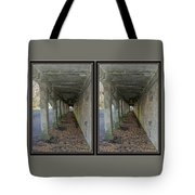 Ft. Howard Pk- Tunnel Effect - 3d Stereo X-view Tote Bag