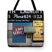 Ft Worth Cleaners  1927 81217 Tote Bag
