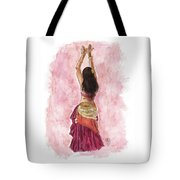 Fuchsia Tote Bag by Brandy Woods