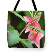 Fuchsia From Above Tote Bag