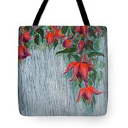 Fuchsia On The Fence Tote Bag