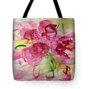 Fucia Kisses Tote Bag