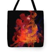 Fuego Tote Bag by M Montoya Alicea