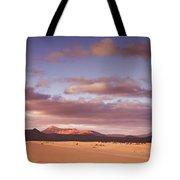 Fuerteventura Desert Landscape Tote Bag