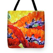 Full Bloom Poppies By Prankearts Fine Art Tote Bag