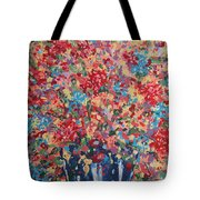 Full Flower Bouquet. Tote Bag