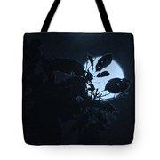 Full Moon And Tree Tote Bag