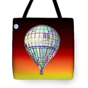 Full Moon Balloon Tote Bag