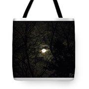 Full Moon In February Tote Bag