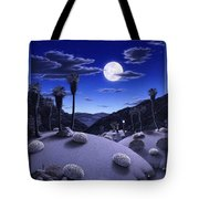 Full Moon Rising Tote Bag