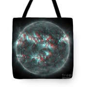 Full Sun With Lots Of Sunspots Tote Bag