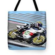 Fullspeed On Two Wheels 7 Tote Bag