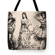 Fun At Art Of Fashion At Nacc 3 Tote Bag