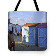 Fun At Mondello Beach Tote Bag