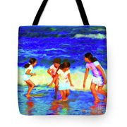 Fun At The Beach Tote Bag