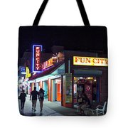 Fun City On The Boards Tote Bag