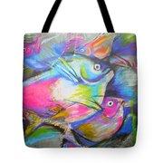 Fun Fish Tote Bag